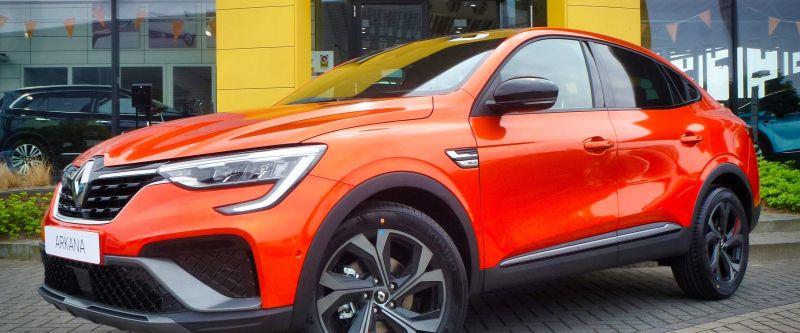 Nieuwe Arkana te bewonderen in de showrooms van Renault Van Kesteren