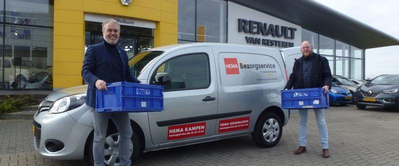 Van Kesteren helpt HEMA Kampen en Genemuiden