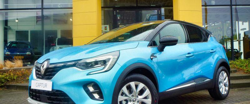 Renault Captur Hybrid nu ook in stekkerloze uitvoering beschikbaar