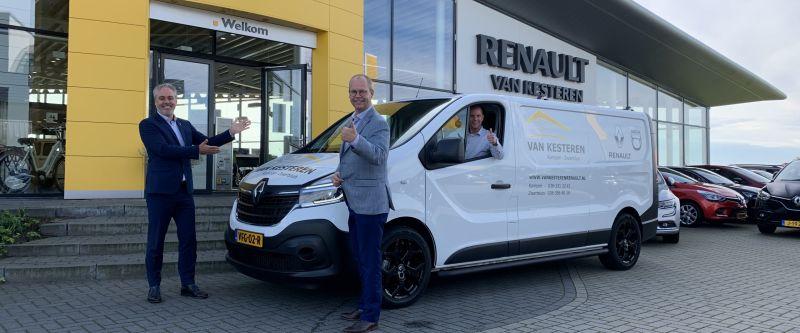 Renault Van Kesteren zet bedrijfswagens  in de spotlights tijdens Dealer Dagen