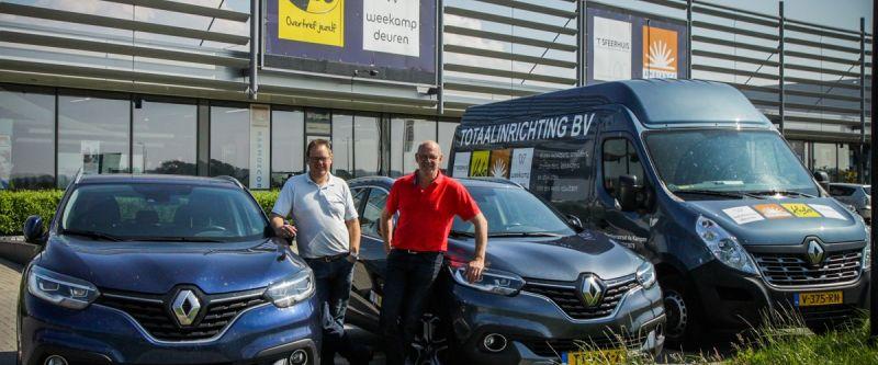 Henk en Theo van Dijk